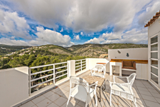 Terrace with mountain views in Portals Nous Mallorca