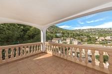 Terrasse mit Panoramablick Apartment Port Andratx