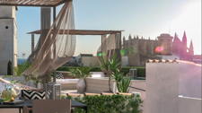 Penthouse with sea views and terrace in Palma Old Town for sale