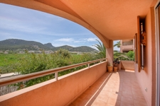 Terrasse mit Bergblick Apartment Puerto de Andratx