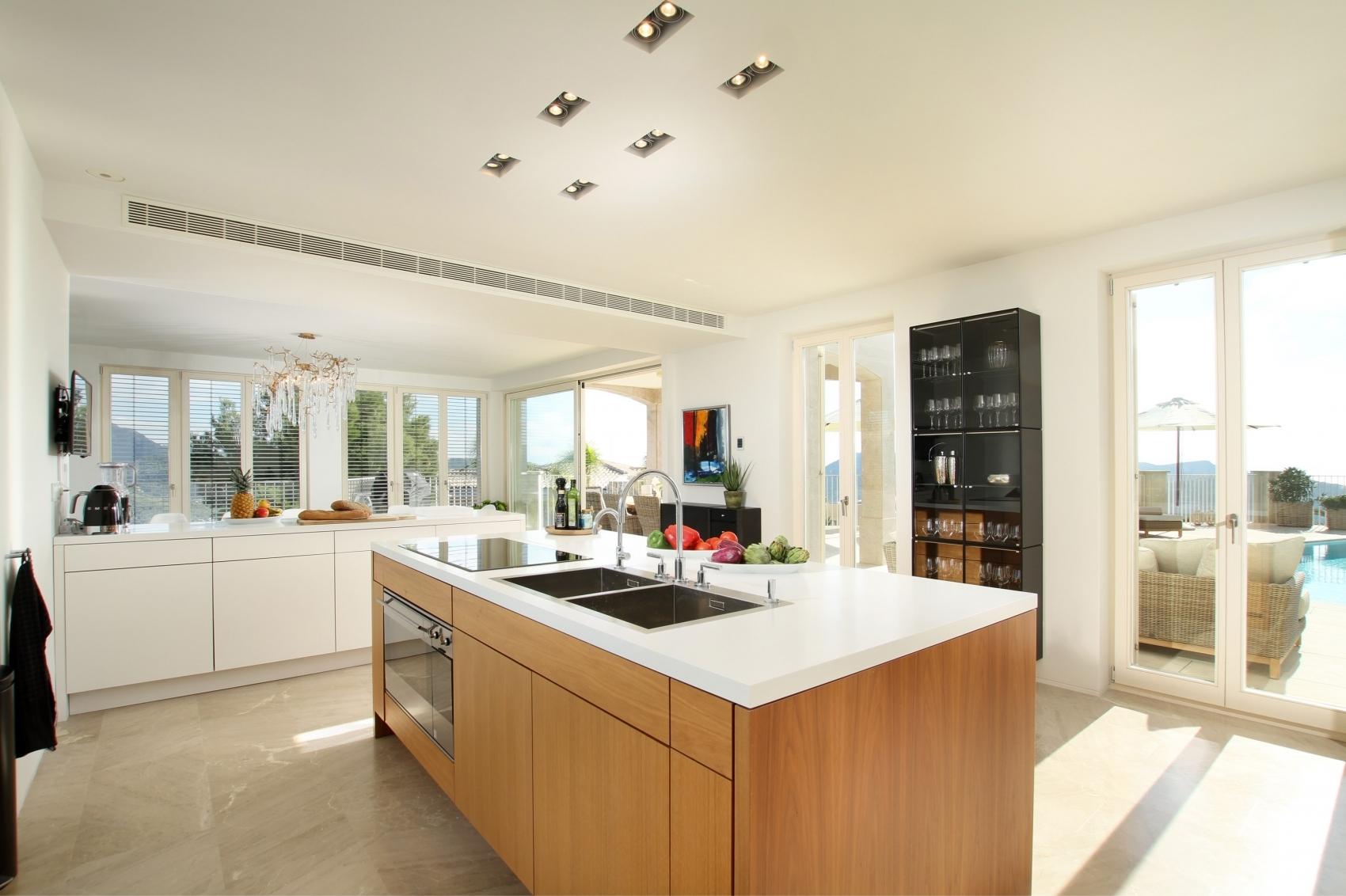 offene Küche Andratx Villa