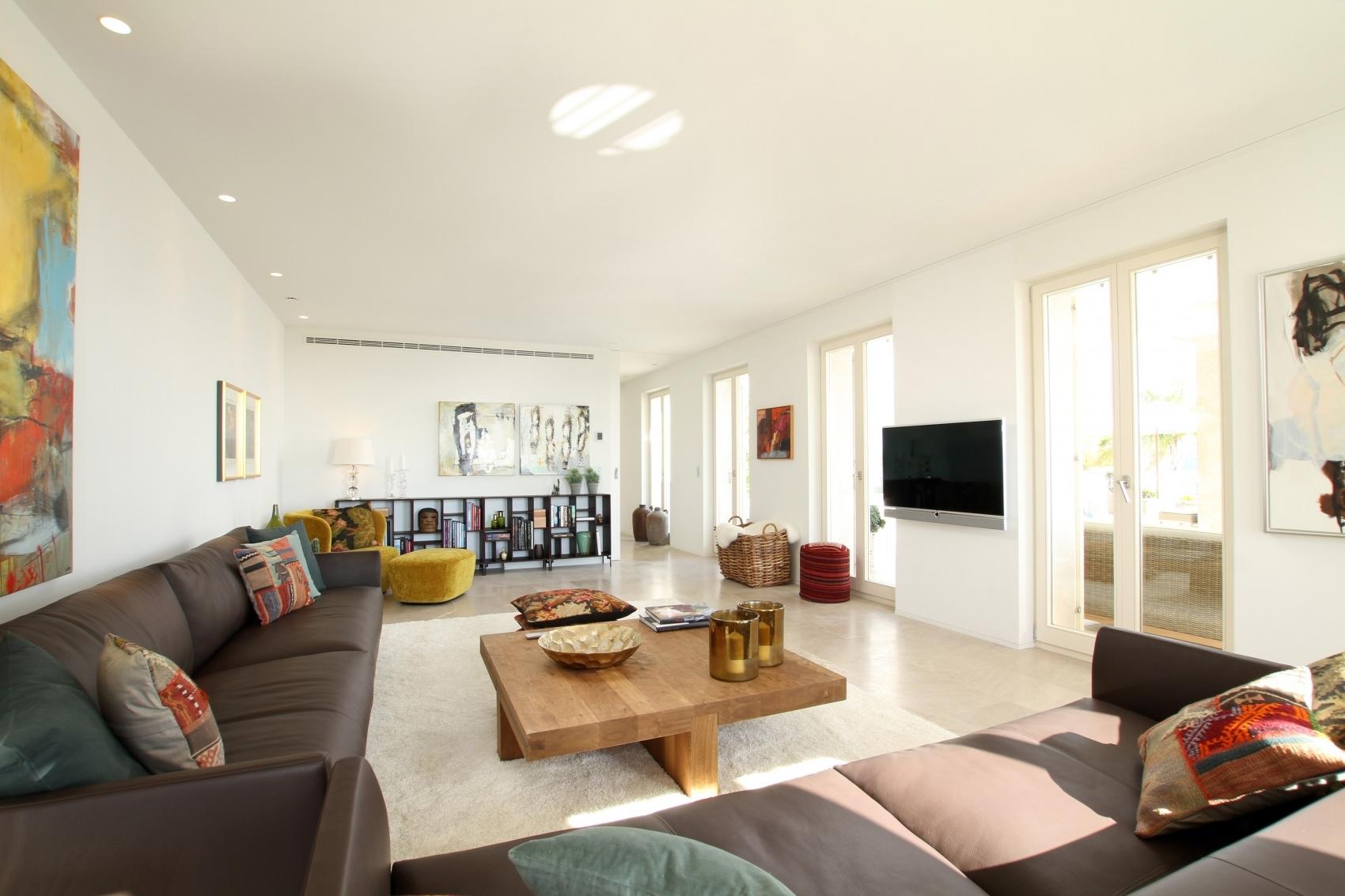 Wohnzimmer Villa Port Andratx