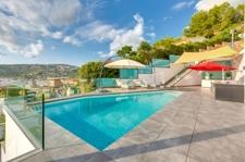Pool terrasse Meerblick villa Port Andratx