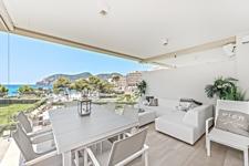 Terrasse mit Meerblick Apartment Camp de Mar