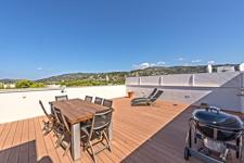 Große Dachterrasse mit unglaublichen Blicken über Bendinat Majorca