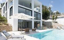 Moderne und neue Villa mit Pool in Costa d'en Blanes Mallorca zu verkaufen