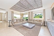 Wohnbereich in Cas Catala luxuriöse Wohnung mit Meerblick