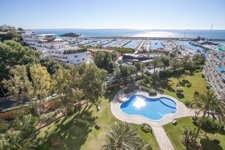 Apartment mit Meerblick und Gemeinschaftspool in Portals Nous Mallorca