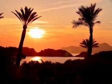 Sicht auf die Malgrats Inseln
