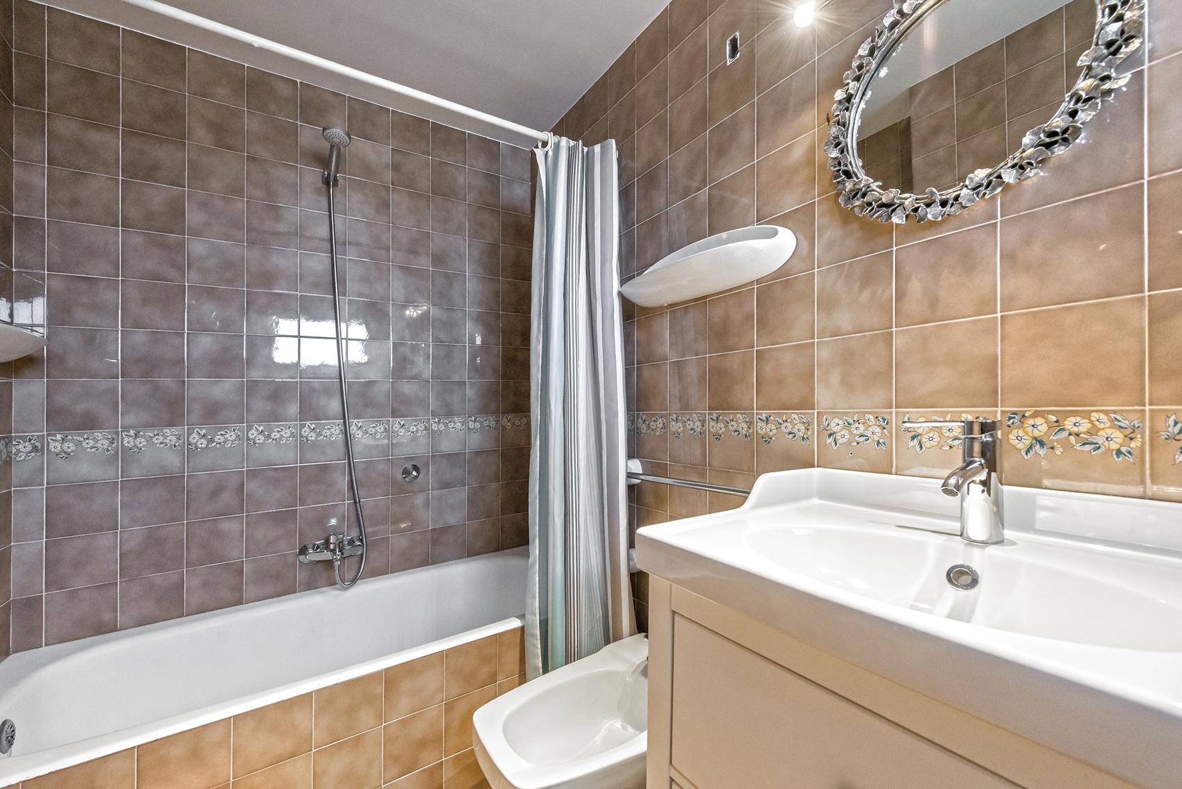 Badezimmer in Meerblick Wohnung in Port Andratx