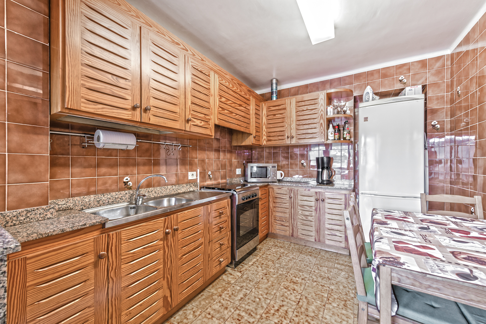 Küche in Meerblick Wohnung in Port Andratx