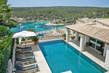 Erste Meereslinie Villa in Sol de Mallorca mit Blick steht zum Verkauf