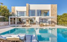 Villa in Bendinat mit Meerblick