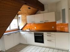 Küche in der Maisonette Wohnung