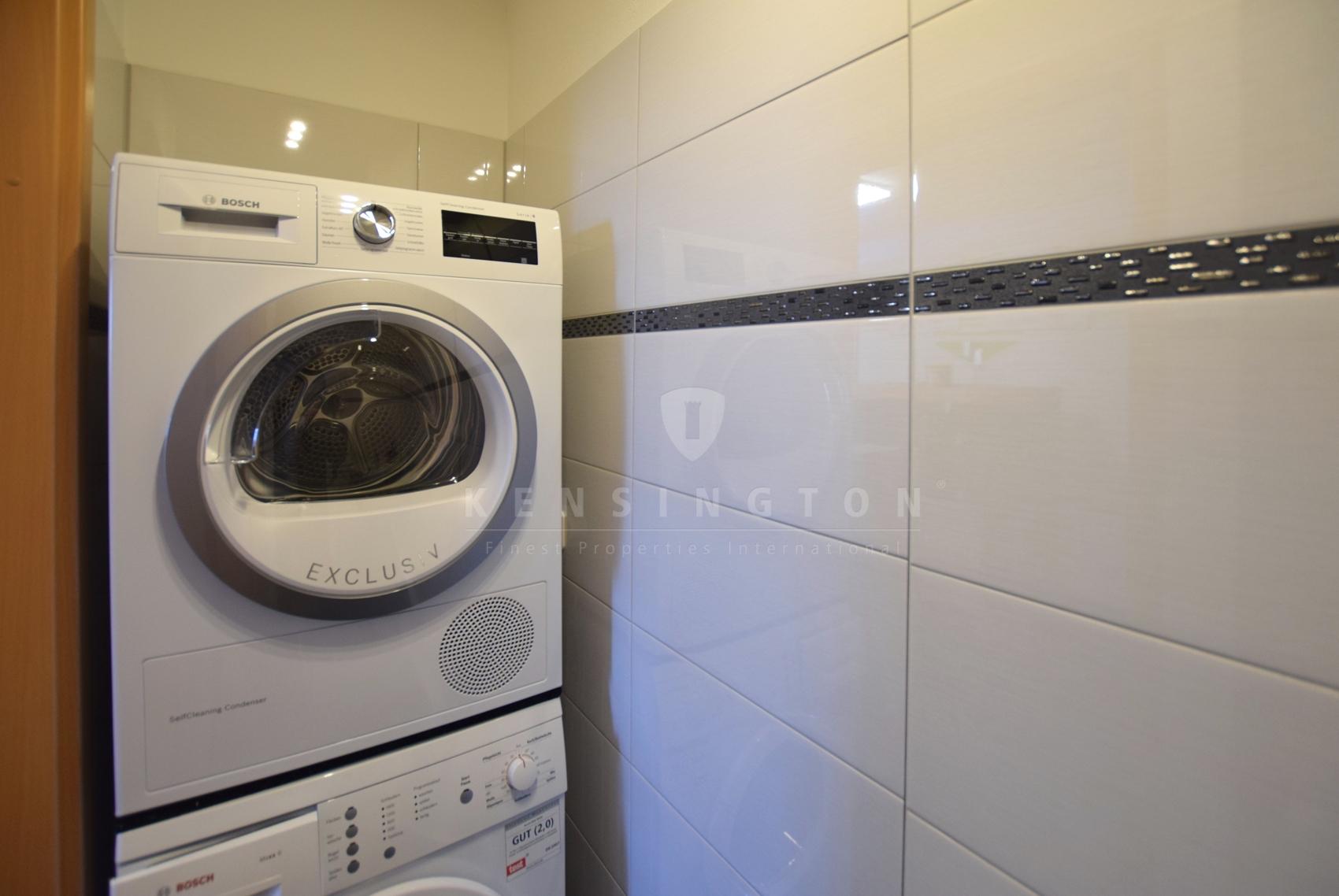 Waschmaschinenanschluss in der Wohnung