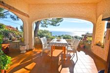 Villa mit Meerblick in Alcanada Alcudia Golf