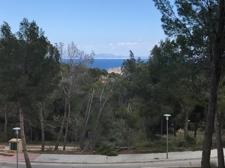 Meerblick Grundstück in Cala Vinyas