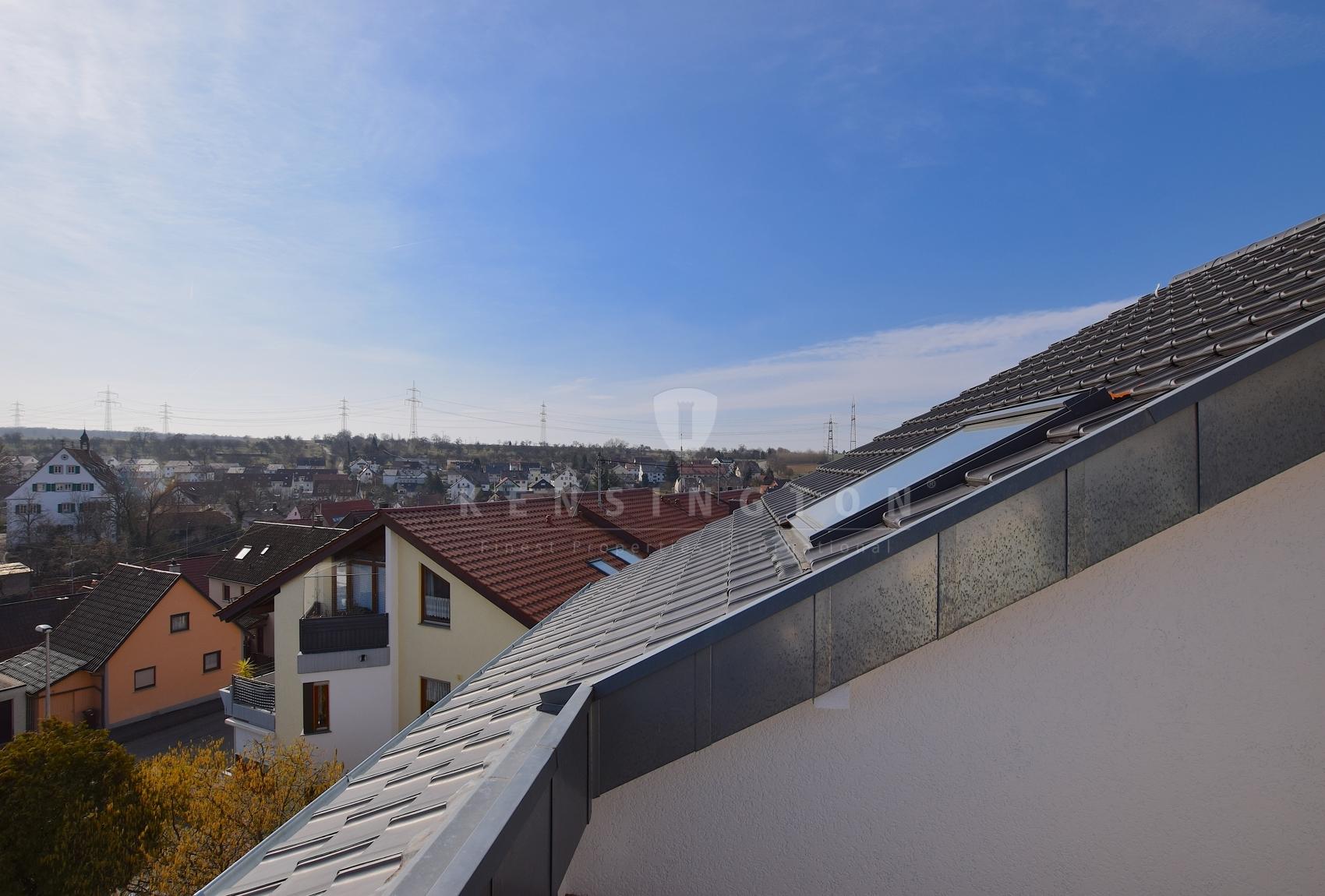 Das Dach wurde erst letztes Jahr modernisiert