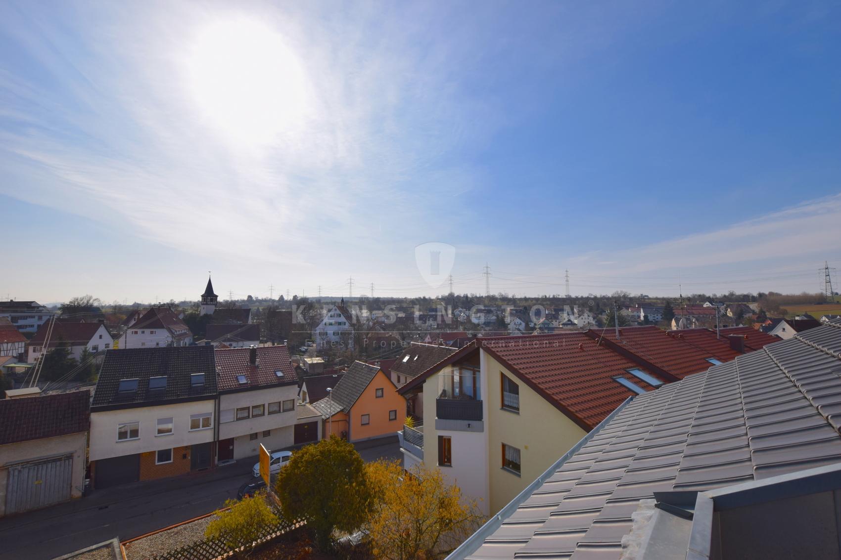 Traumhafter Weitblick von Ihrer Dachterrasse