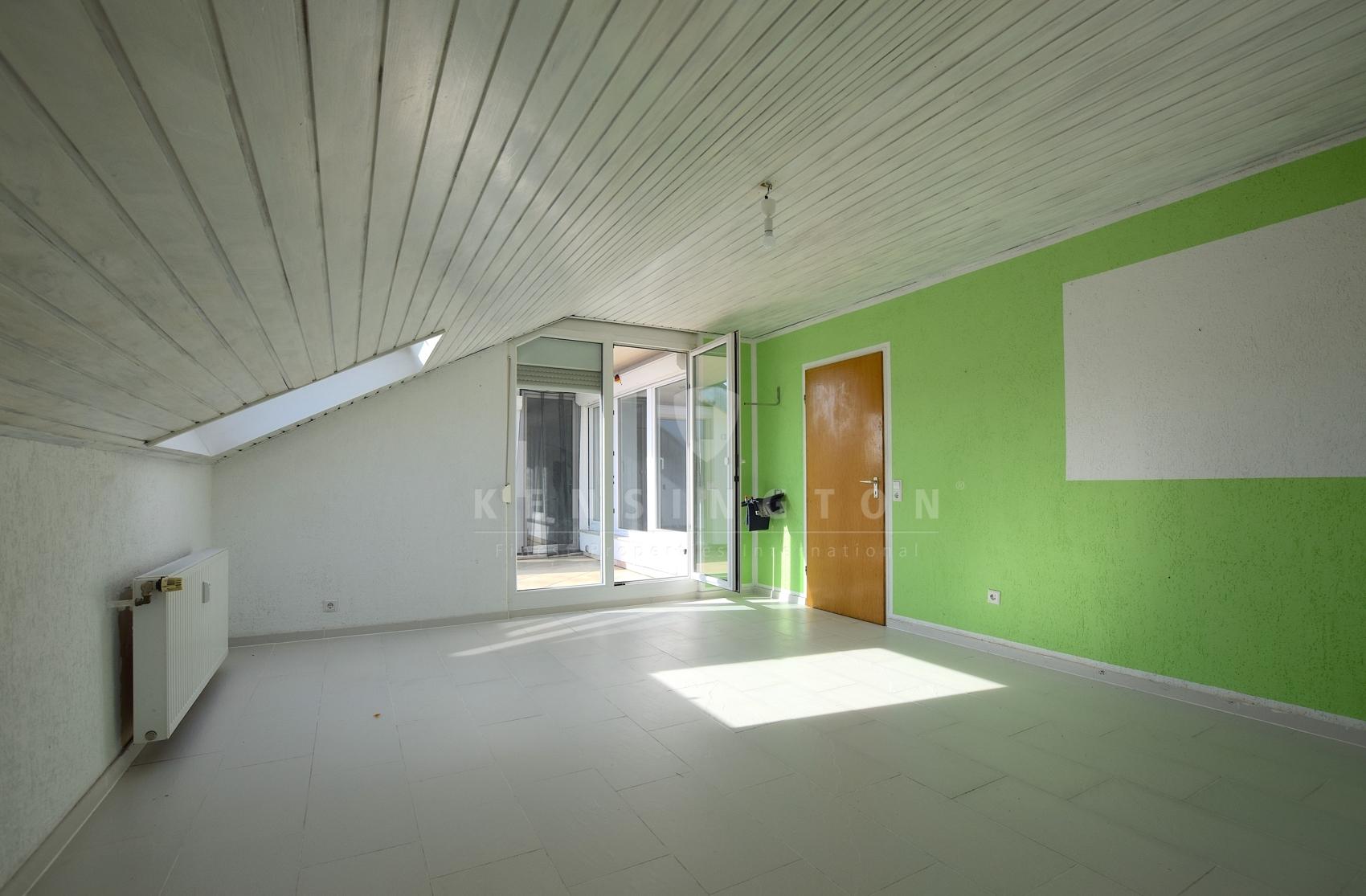 Großer Wohnbereich mit viel Gestaltungsfreiheit