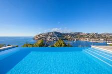 Pool mit Meerblick Mallorca