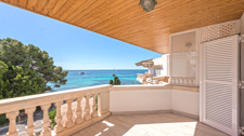 Waterfront penthouse sea view terrace Sol Caliu