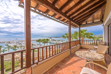 Sea view terarce in Voramar Puerto Portals Penthouse