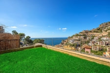 Garden apartment with sea views in Port Andratx in Las Milanas, Cala Moragues