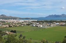 view from El vila Puerto Pollensa