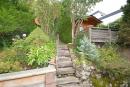 Blick auf das Gartenhaus