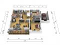 Erdgeschoss EG 3D