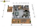 Erdgeschoss 2D
