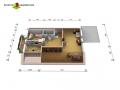 Dachgeschoss 2D