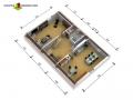 Dachgeschoss I 3D