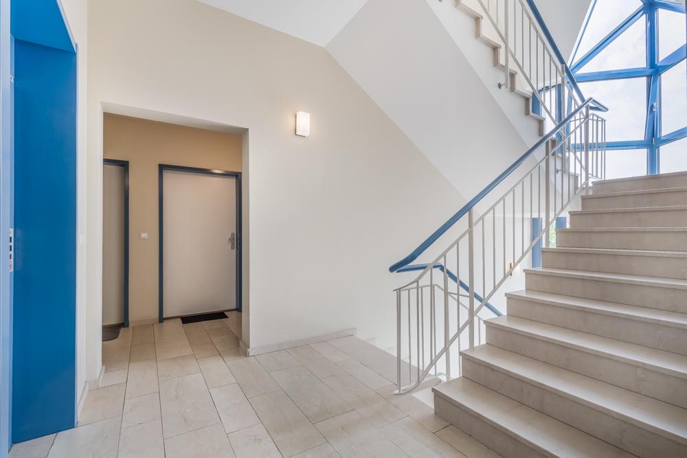 Treppenhaus Fahrstuhl