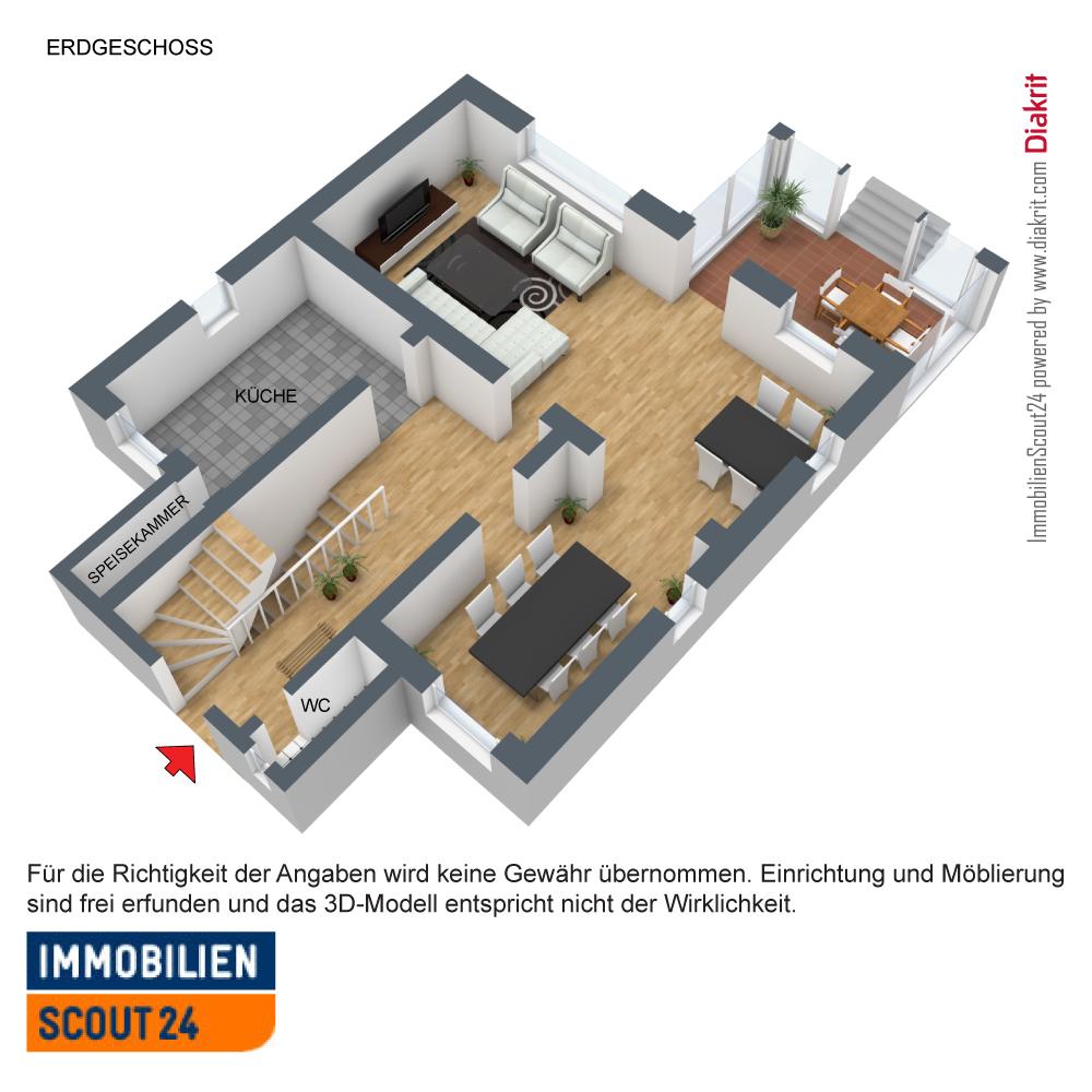 Erdgeschoss 3D