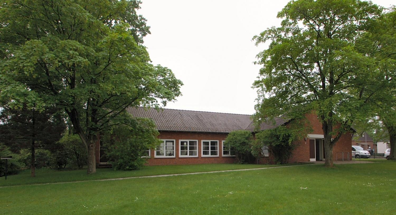 Gemeindehaus Seitenansicht