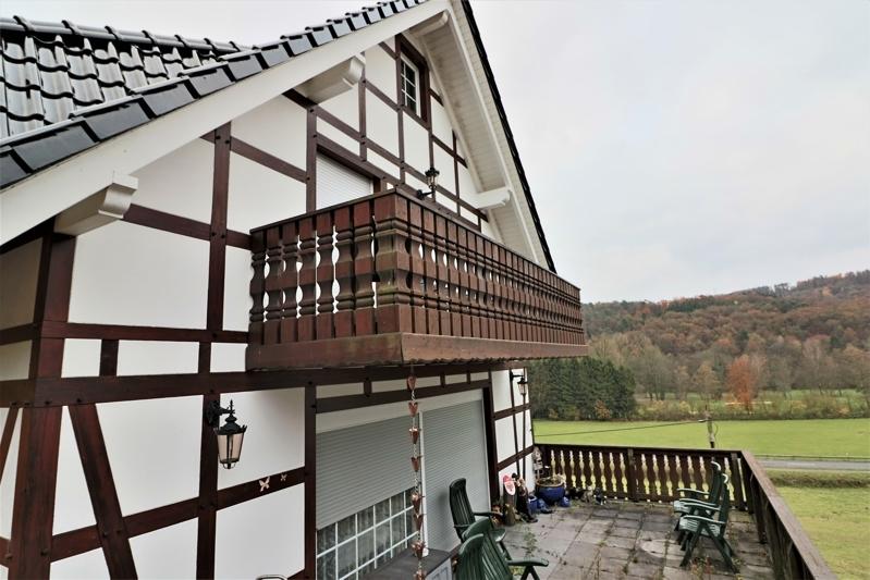 Giebel und Balkon Neubau