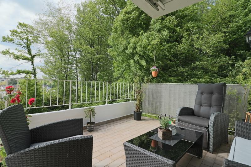 EG - Terrasse mit Panorama Aussicht