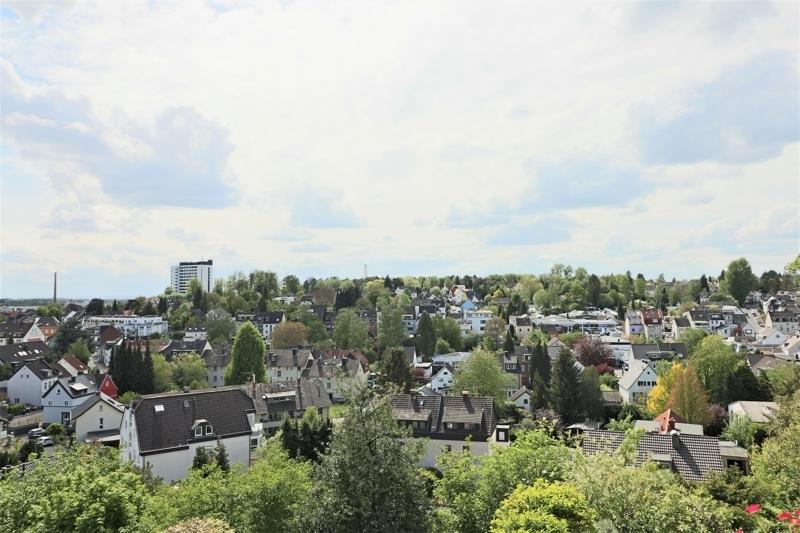 EG - Aussicht Wohnraum u. Terrasse