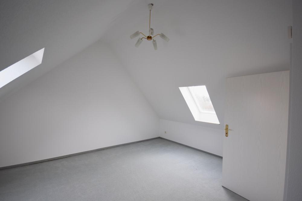 Jugendzimmer im Spitzboden, weitere Ansicht