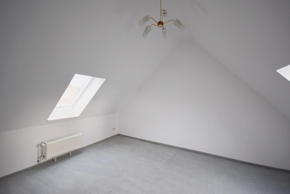 Jugendzimmer im Spitzboden