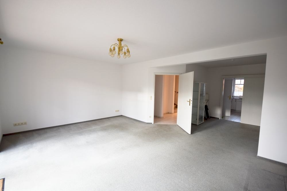 Teilansicht Wohnzimmer,Essbereich-Küche
