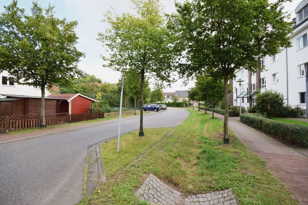 Ruhige Strasse Wohngebiet