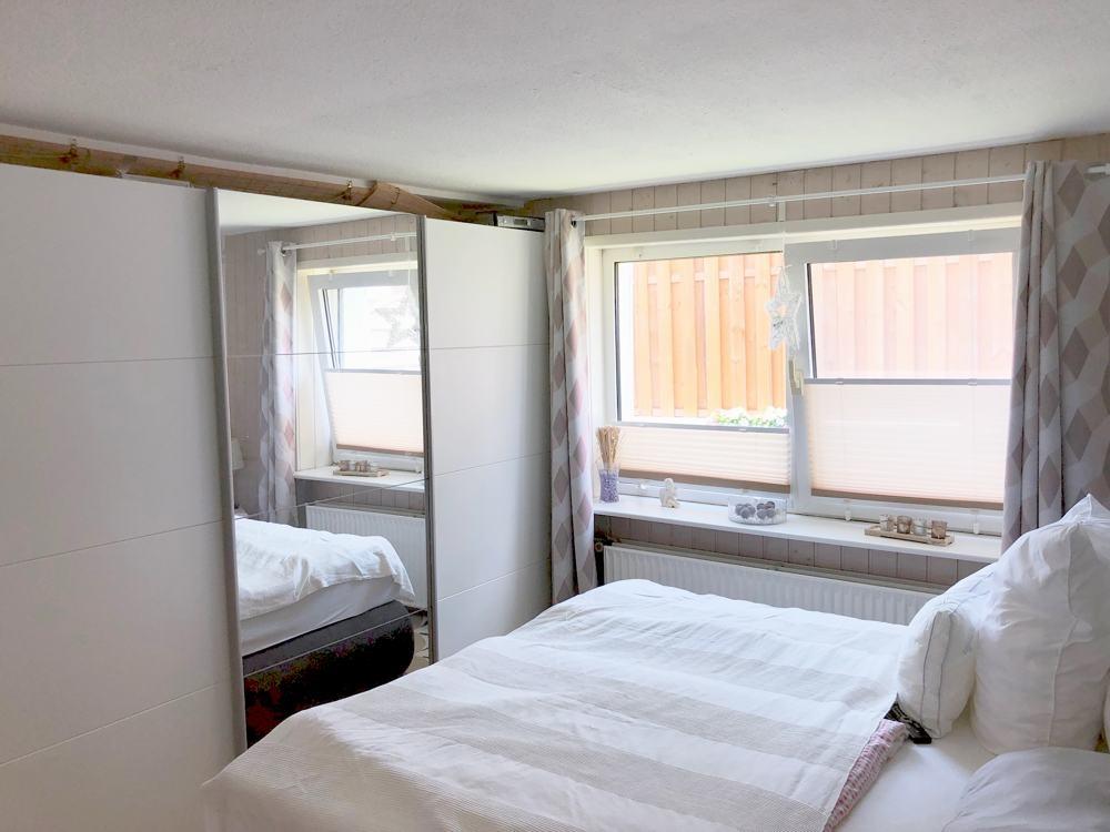 Schlafzimmer separate Wohnung.