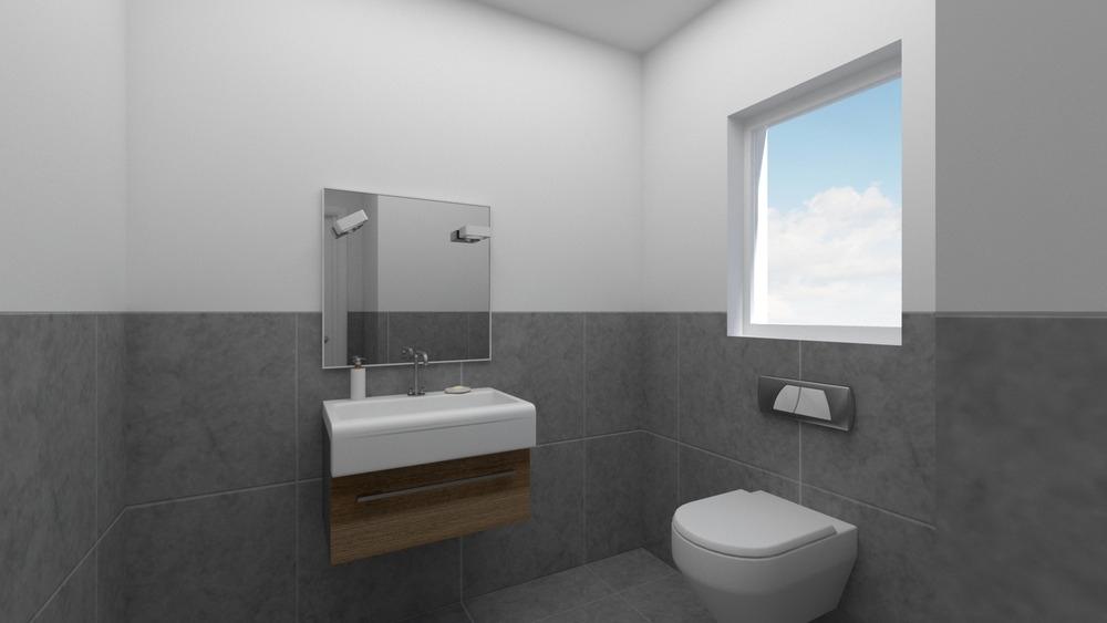 Virtuelle Ansicht Gäste WC