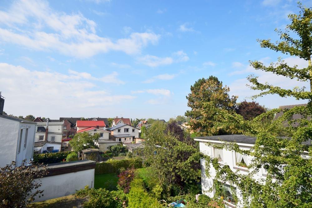 Aussicht von dem Balkon
