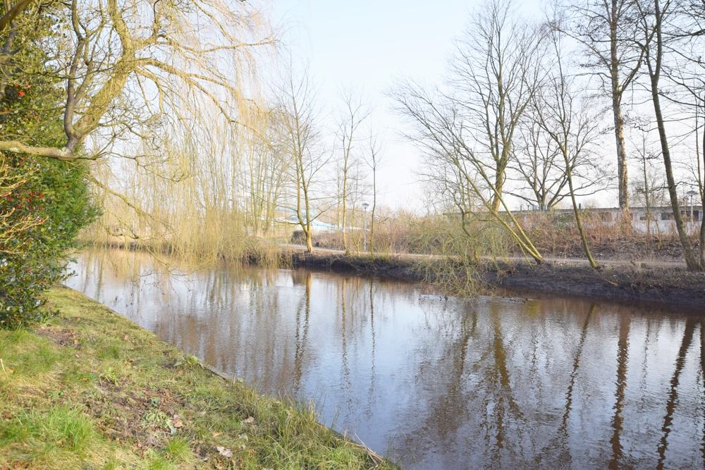 Krückau am Garten angrenzend März 2018