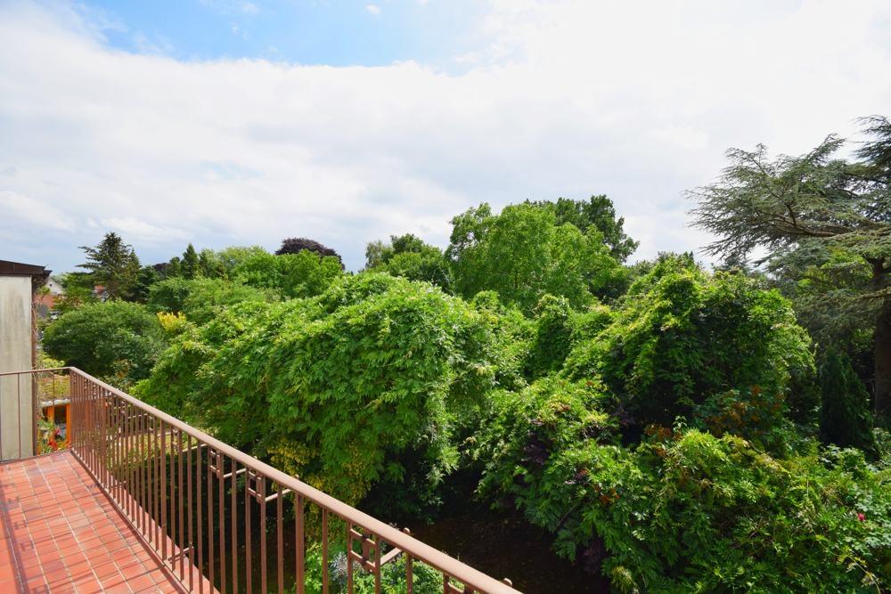 Weiterer Blick vom Balkon aus gesehen