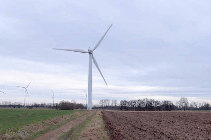 Windrad Standort